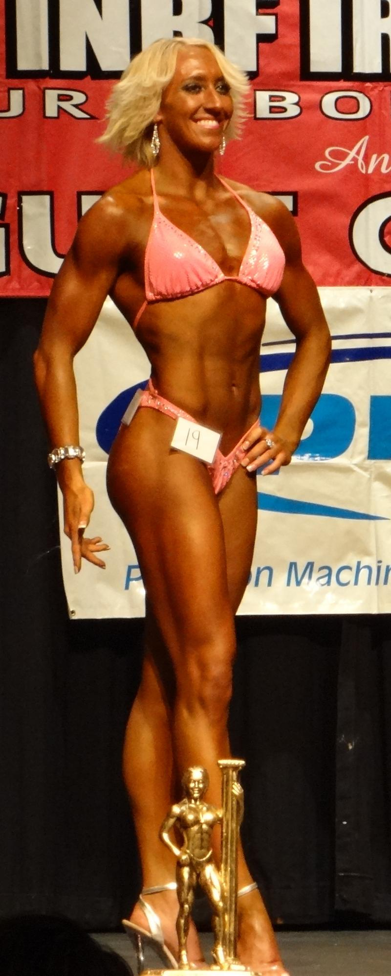 Sabrina Madsen 2nd figure Medium Class & 2nd Ms. Fit Body
